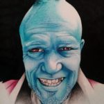 Portrait of Yondu (Michael Rooker)