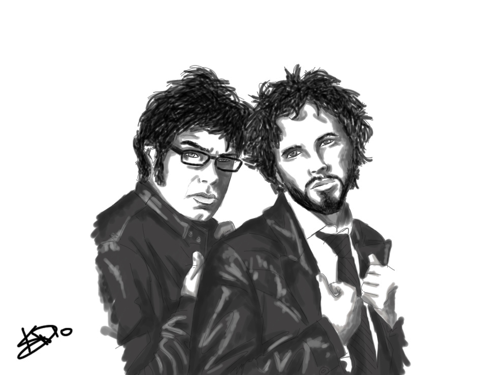 Portrait Flight of the Conchords