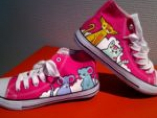 Cat and Mouse Shoes