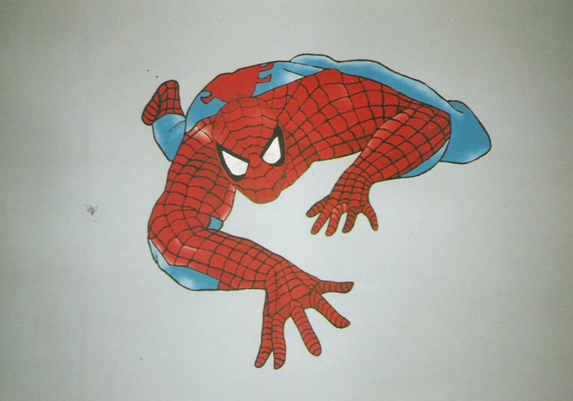 Mural Spiderman