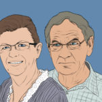 Portrait of my grandparents