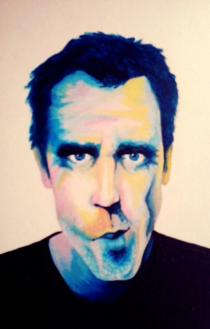Portrait House Hugh Laurie