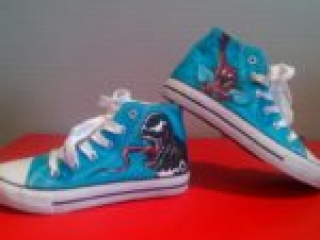 Spiderman and Venom Shoes