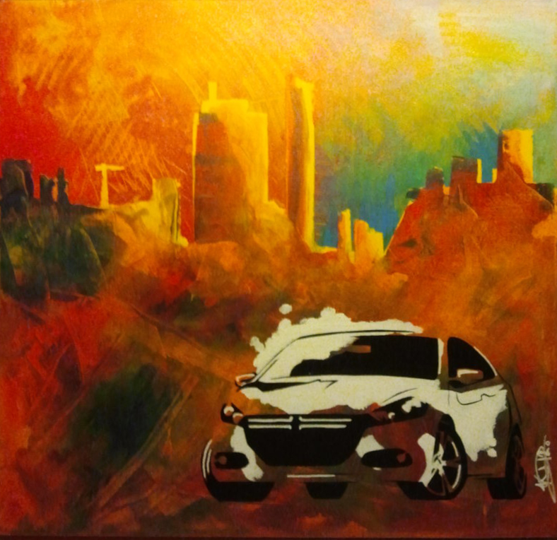 Painting Dodge Dart
